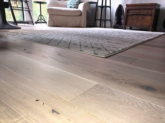 Engineered hardwood flooring by Luxor Floors in San Mateo, CA