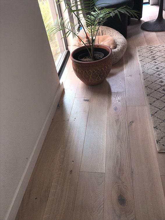 New hardwood floors in San Mateo, CA by Luxor Floors Inc.