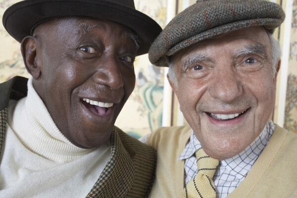 2 men-asssociates denture
