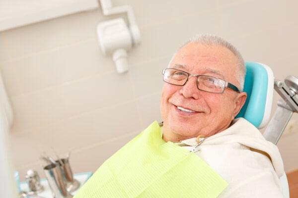 associates denture-senior man