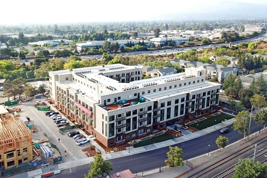 Commercial apartment flooring near Cupertino, CA by The Carpet Center