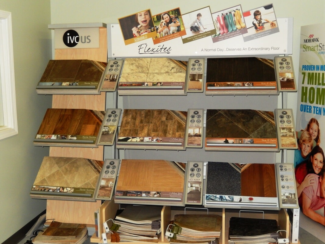 Luxury vinyl tile store near Columbia, SC - Carpet Outlet