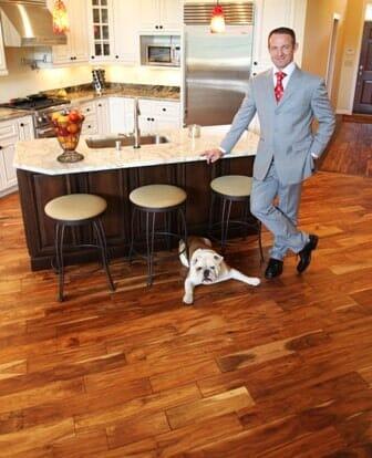 Hardwood flooring from FloorMax Direct in Dalton, GA