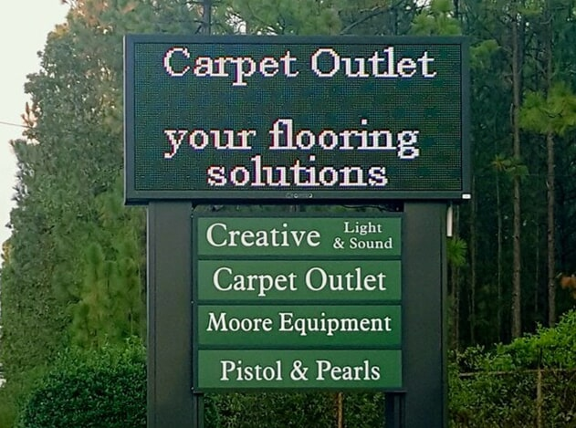 Flooring store near Camden, SC - Carpet Outlet