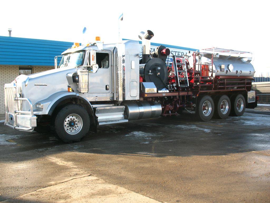 newly fabricated truck
