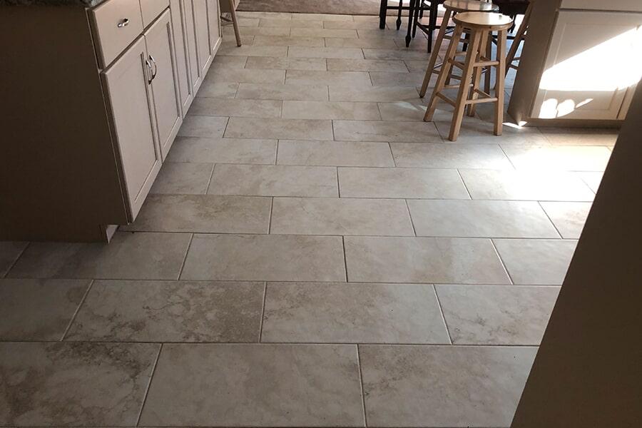 Tile flooring installation from Summerlin Floors in Hadley, MA
