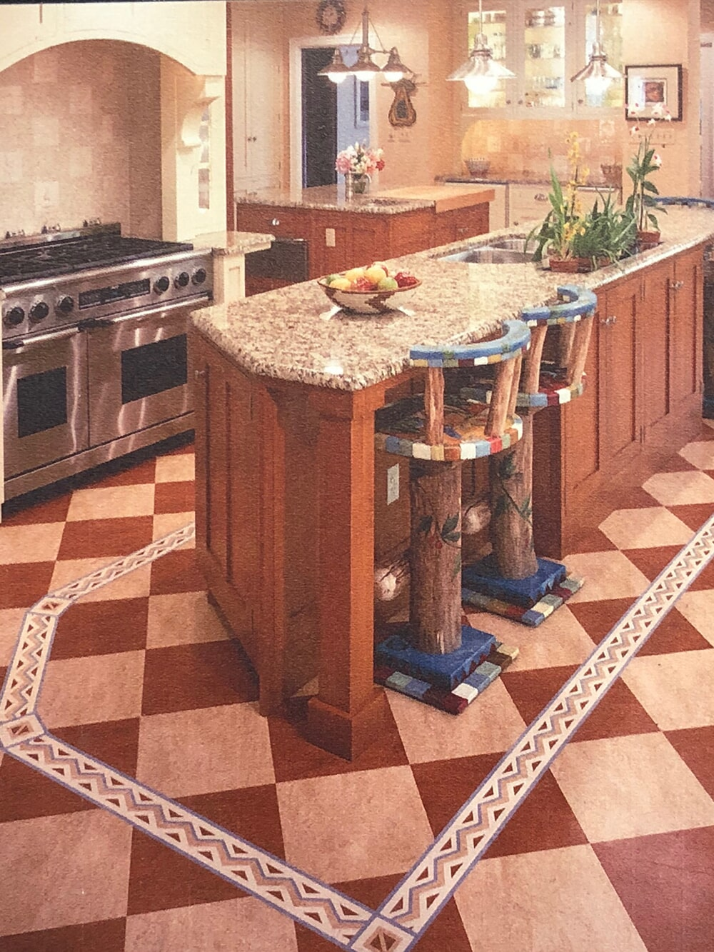 Kitchen remodel from  Summerlin Floors in Northampton, MA
