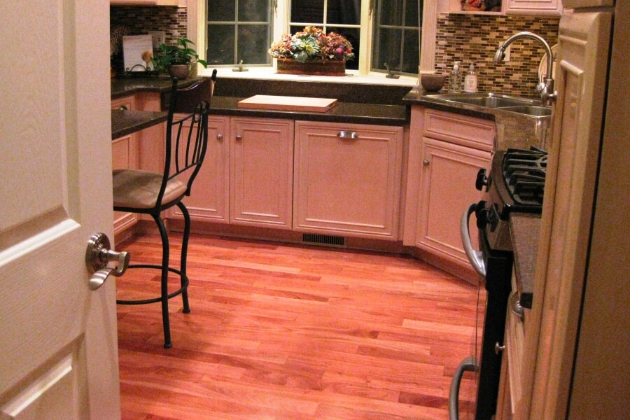 Beautiful kitchen flooring in Red Bank, NJ from Carpets with a Twist