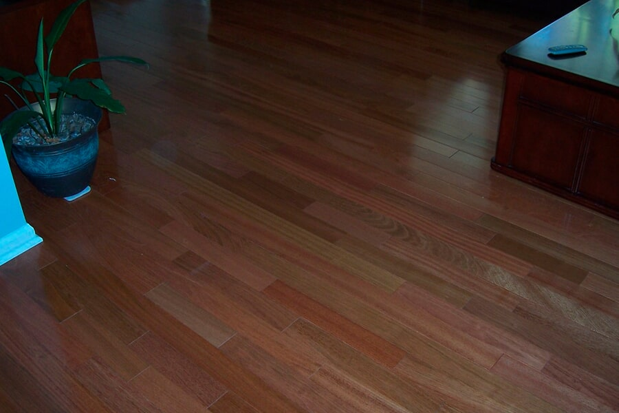 Classic hardwood installation in Holmdel, NJ from Carpets with a Twist