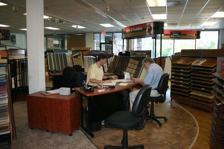 Sit down with our professionals at Carpets with a Twist and plan your flooring installation