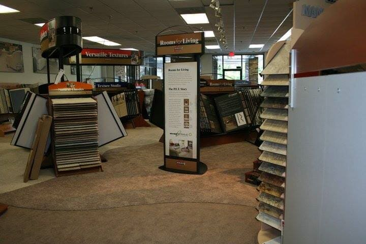 Our options even cover our own floors at our Red Bank, NJ showroom
