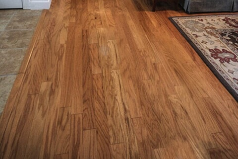 Hardwood floor installation in Rutland, VT by Abatiello Design Center