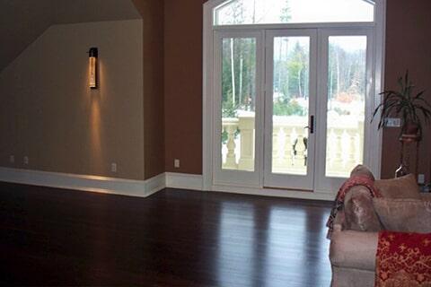 Hardwood floor installation in Rutland, VT by Abatiello Design Center