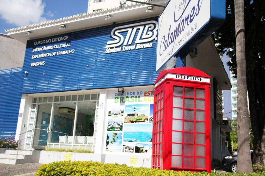 Calamares Cabine de Telefone