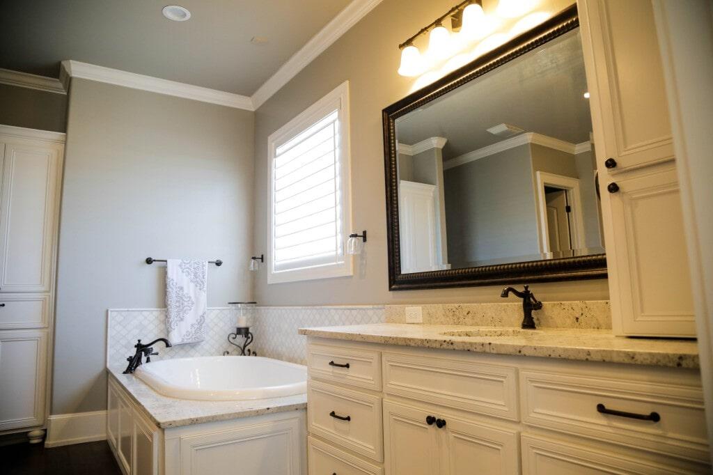 Bathroom tile by Yates Flooring Center