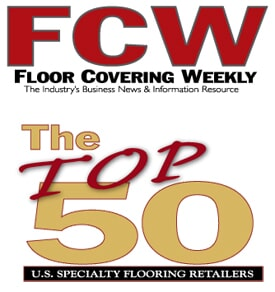 Yates Flooring Center in Lubbock, Midland, or Amarillo is honored to be in the TOP 50 stores in the Floor Covering Weekly poll