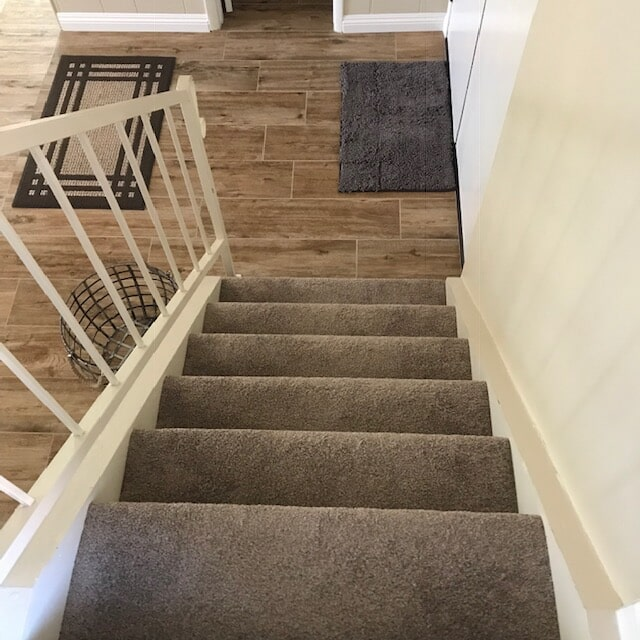 Stair carpet and runners selection and installation