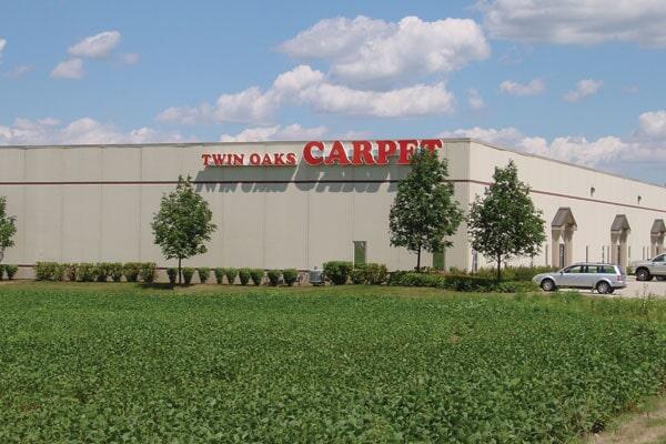 The Twin Oaks Carpet Ctr LTD showroom in Romeoville, IL