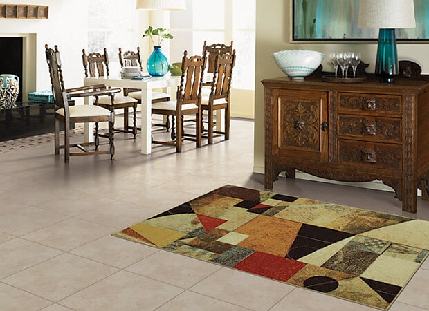 Colorful area rugs in South Beach, FL from Carpet & Tile Warehouse