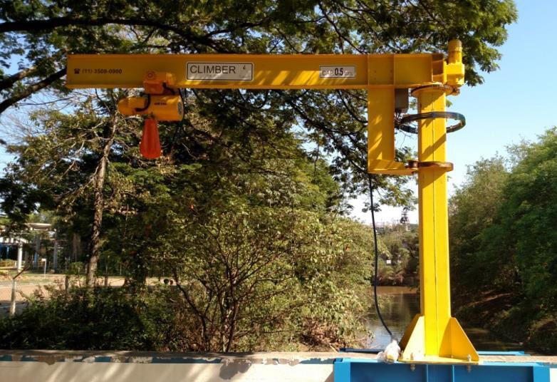 Venda e instalação de braço elétrico. Desde o projeto até a entrega final.