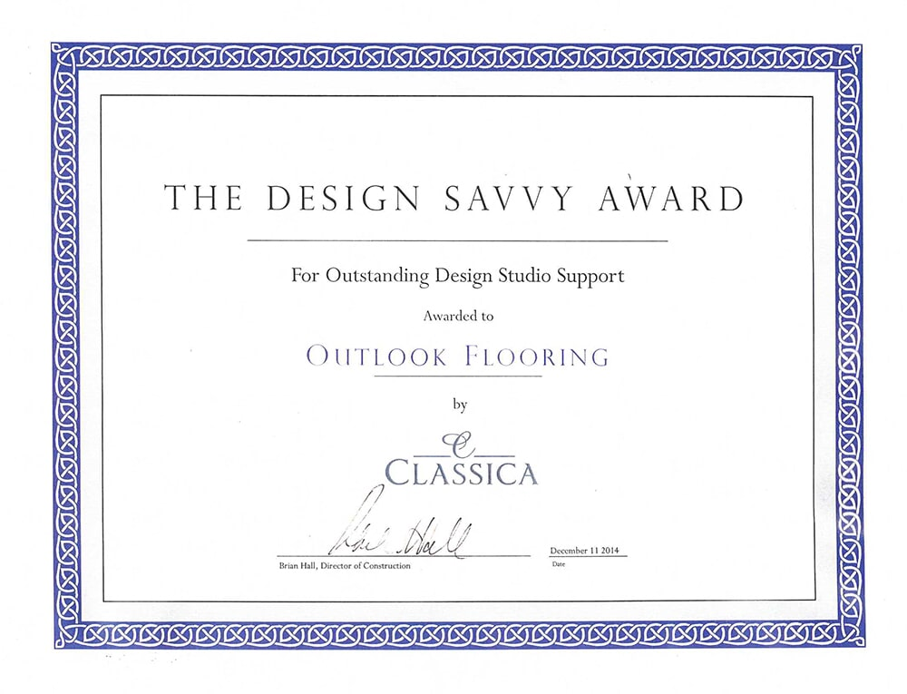 Design Savvy Award