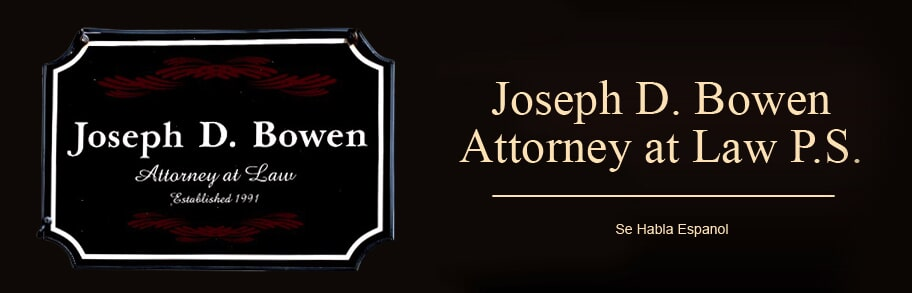 Joseph D. Bowen Attorney at Law