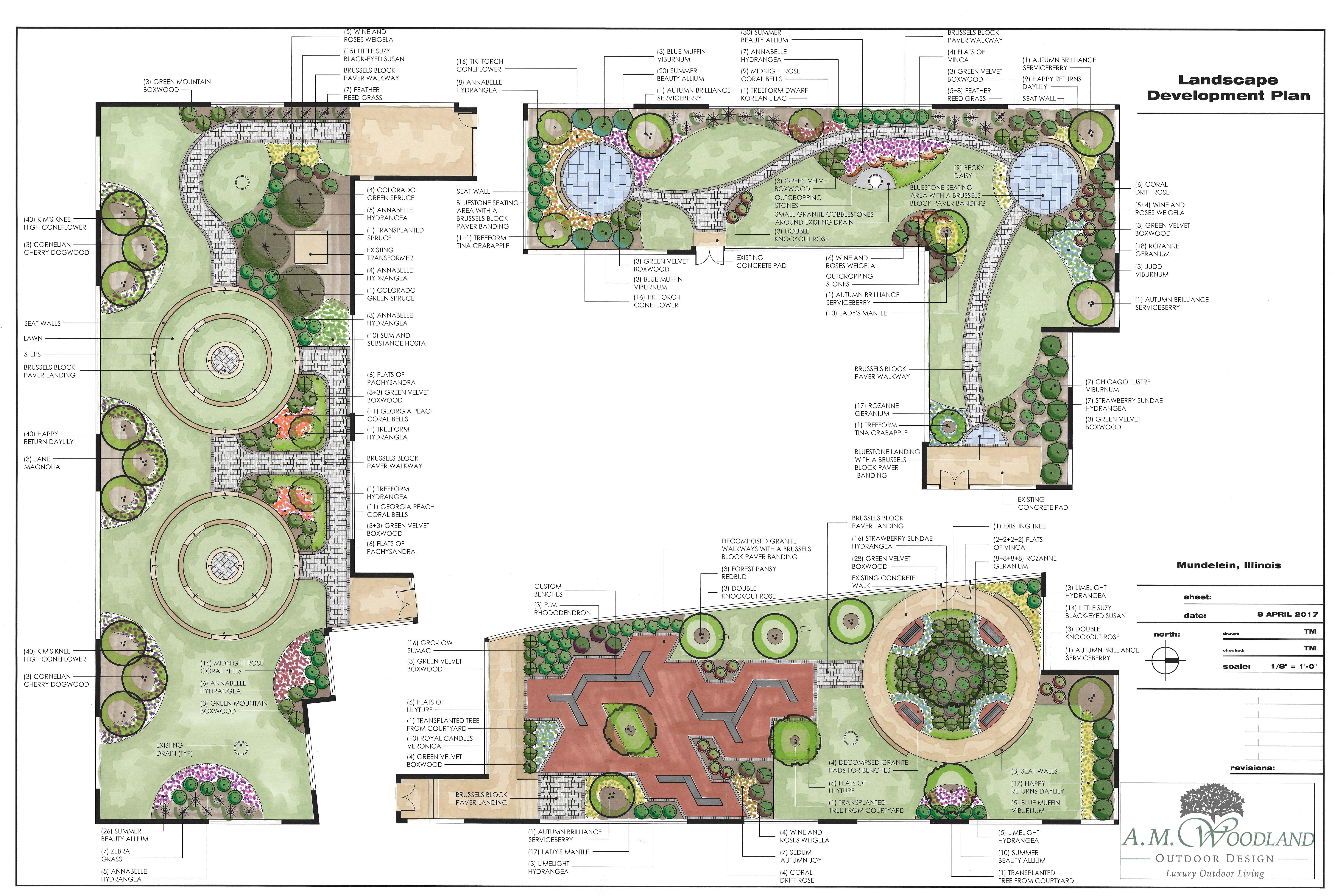 High School Courtyard and Socratic Circles and Modern Design Mundelein-min