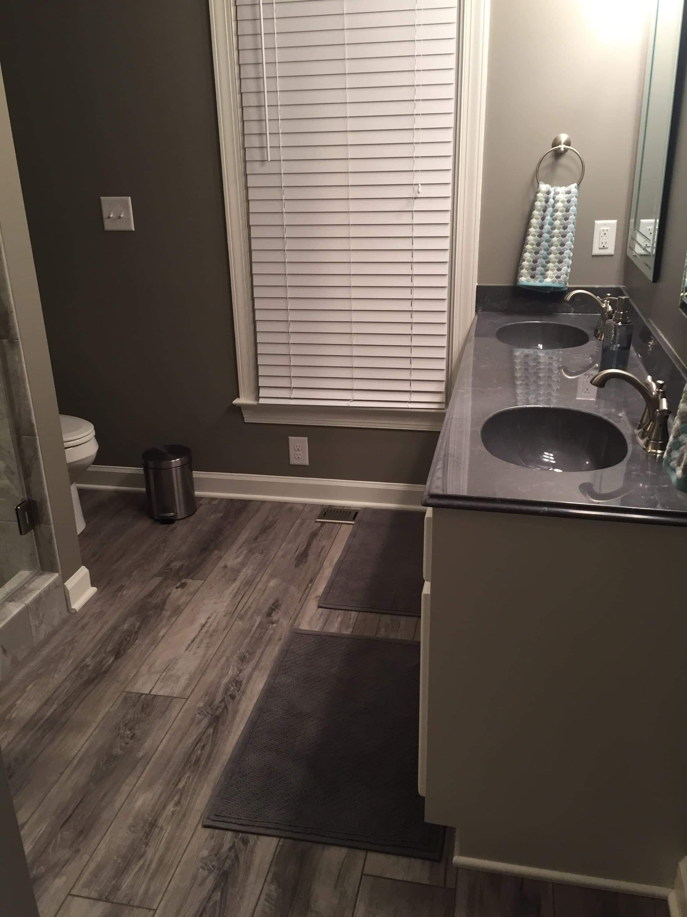 Full bathroom & Flooring remodeling in Wilson, NC