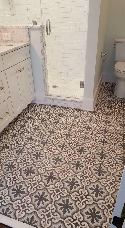 Ornate tile flooring in Charleston, SC from Flooring Factory