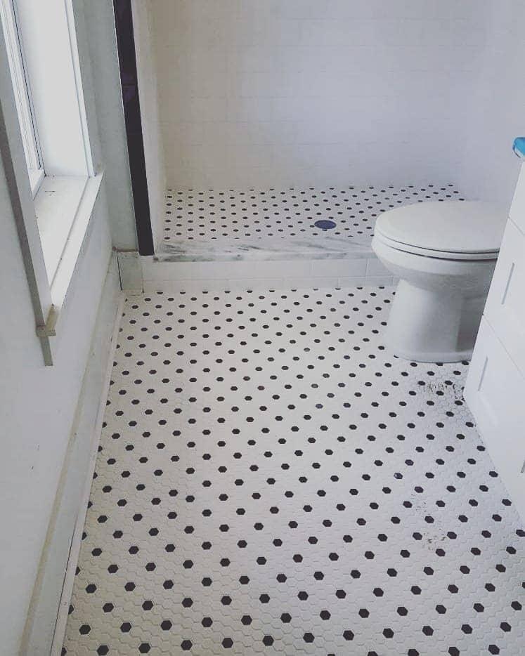 Bathroom tile flooring in Charleston, SC from Flooring Factory