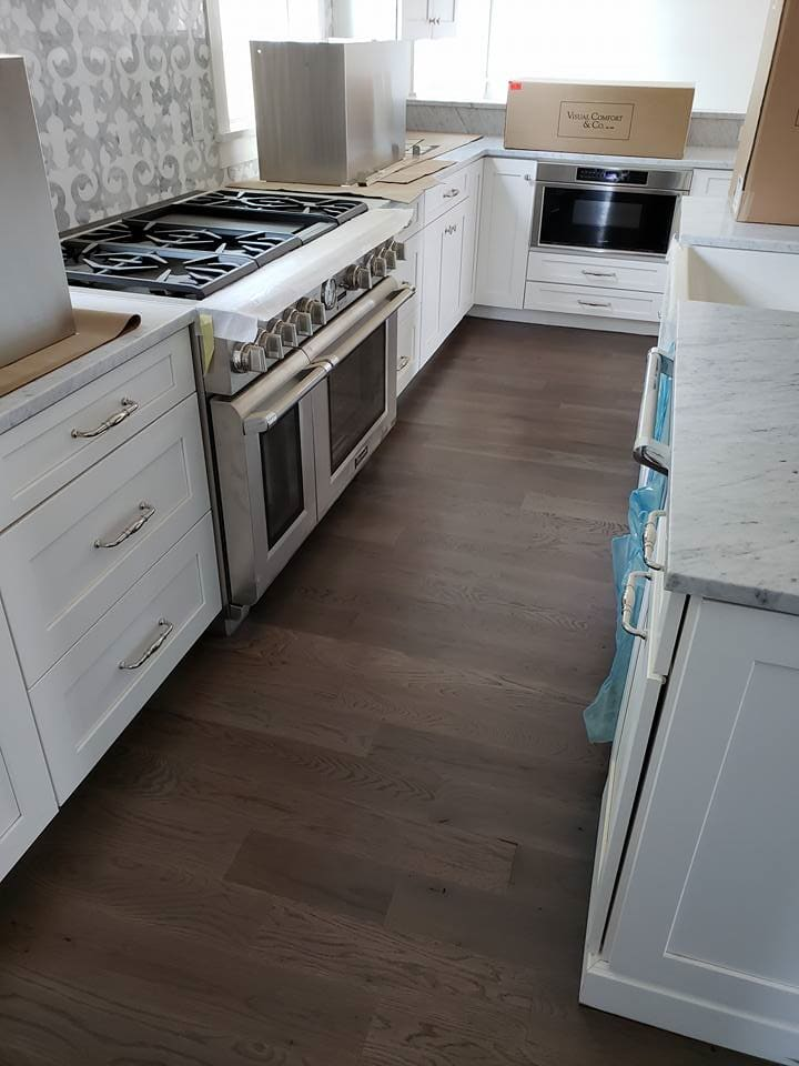 White cabinetry in Goose Creek, SC from Flooring Factory