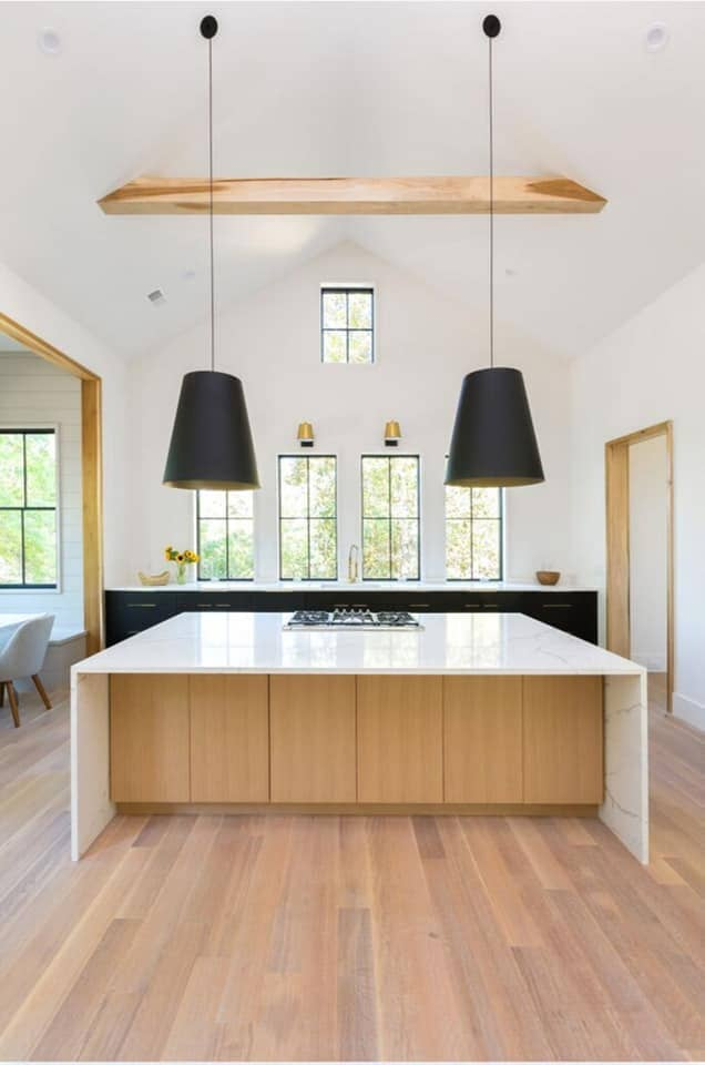 Modern kitchen renovation in Summerville, SC from Flooring Factory
