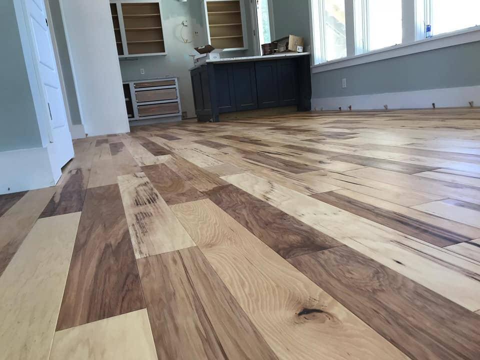 Multi tone wood flooring in Goose Creek, SC from Flooring Factory