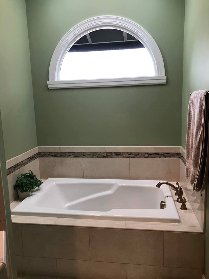 Bathtub Tile Renovations Wilson NC