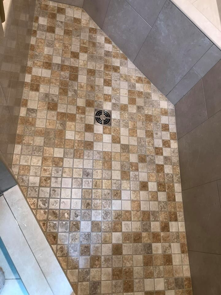 Shower and bathroom flooring tile Riche Ballance Flooring