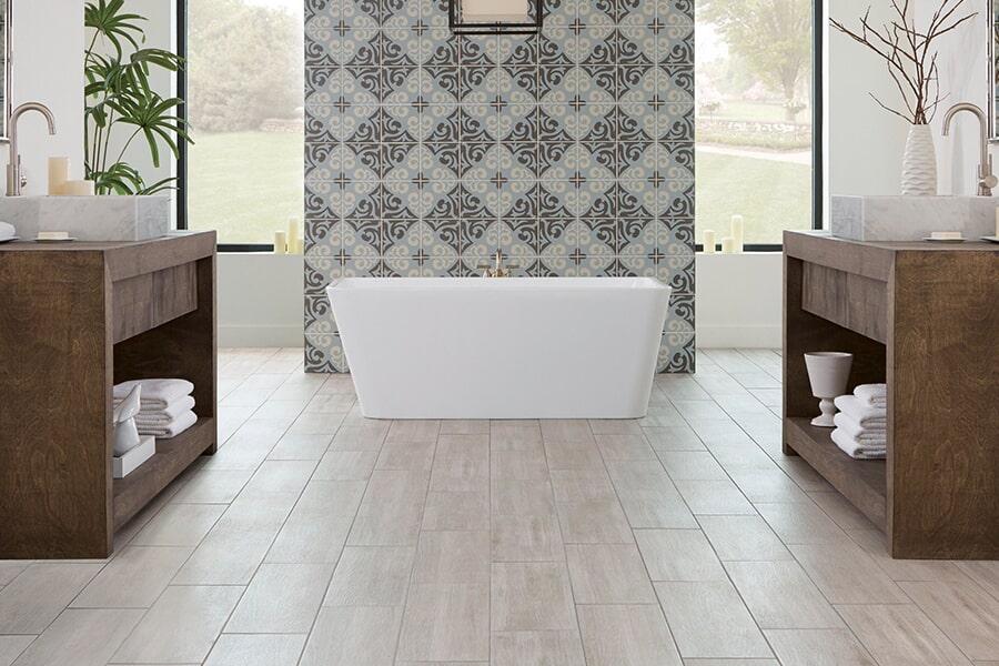 The Jupiter area's best waterproof flooring store is Barefoot Tile & Stone