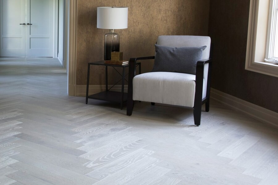 Contemporary wood flooring in Stonewall, MB from National Interiors