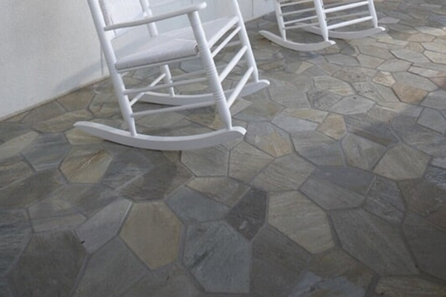 Port stone floors in Tuscaloosa, AL from Crimson Carpet and Flooring