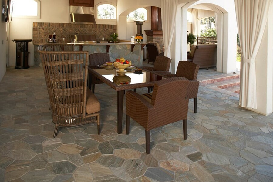 Port stone flooring in Coaling, AL from Crimson Carpet and Flooring