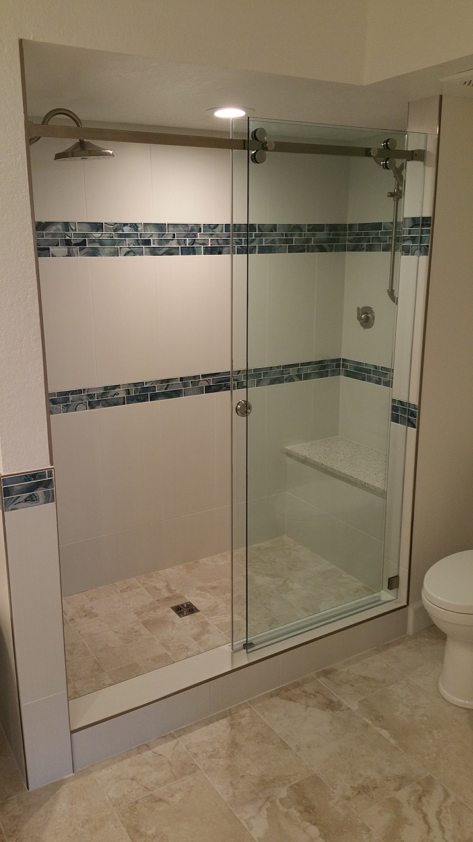 Shower tile installation and full remodeling in Tampa FL
