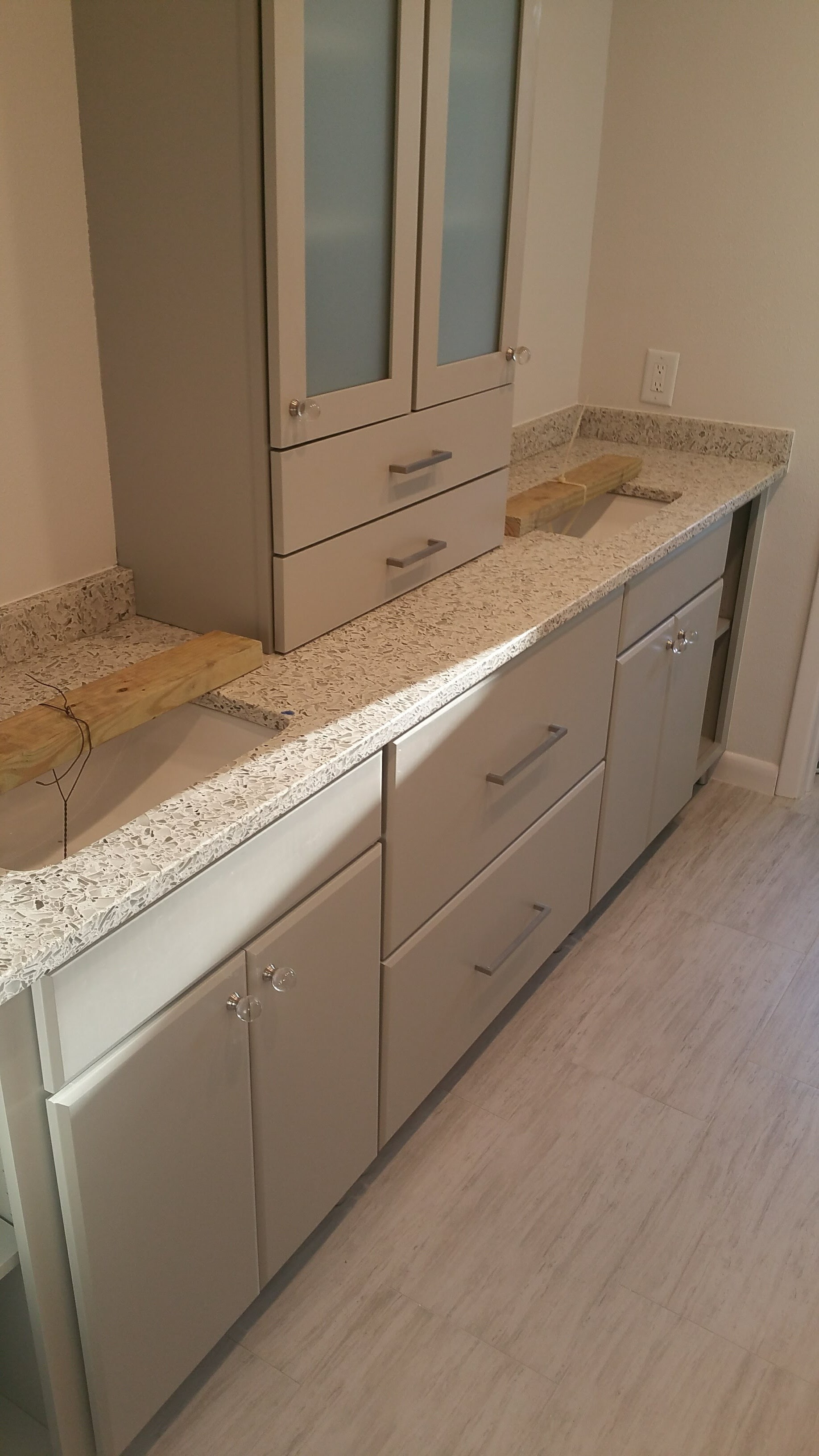 Bathroom Flooring & Counter top remodeling Tampa FL