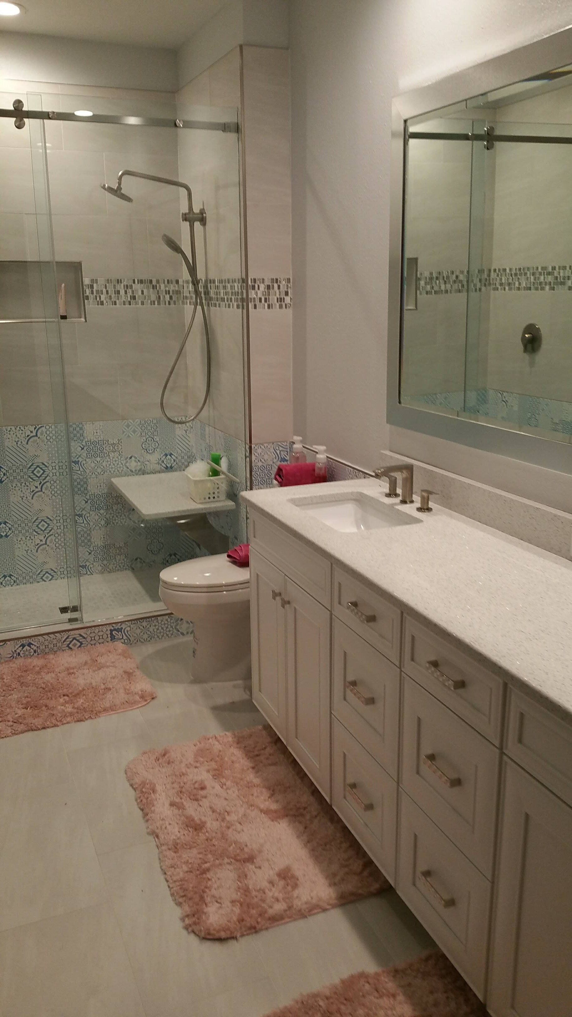 Tampa FL full bathroom remodeling services from Relo Interior Design
