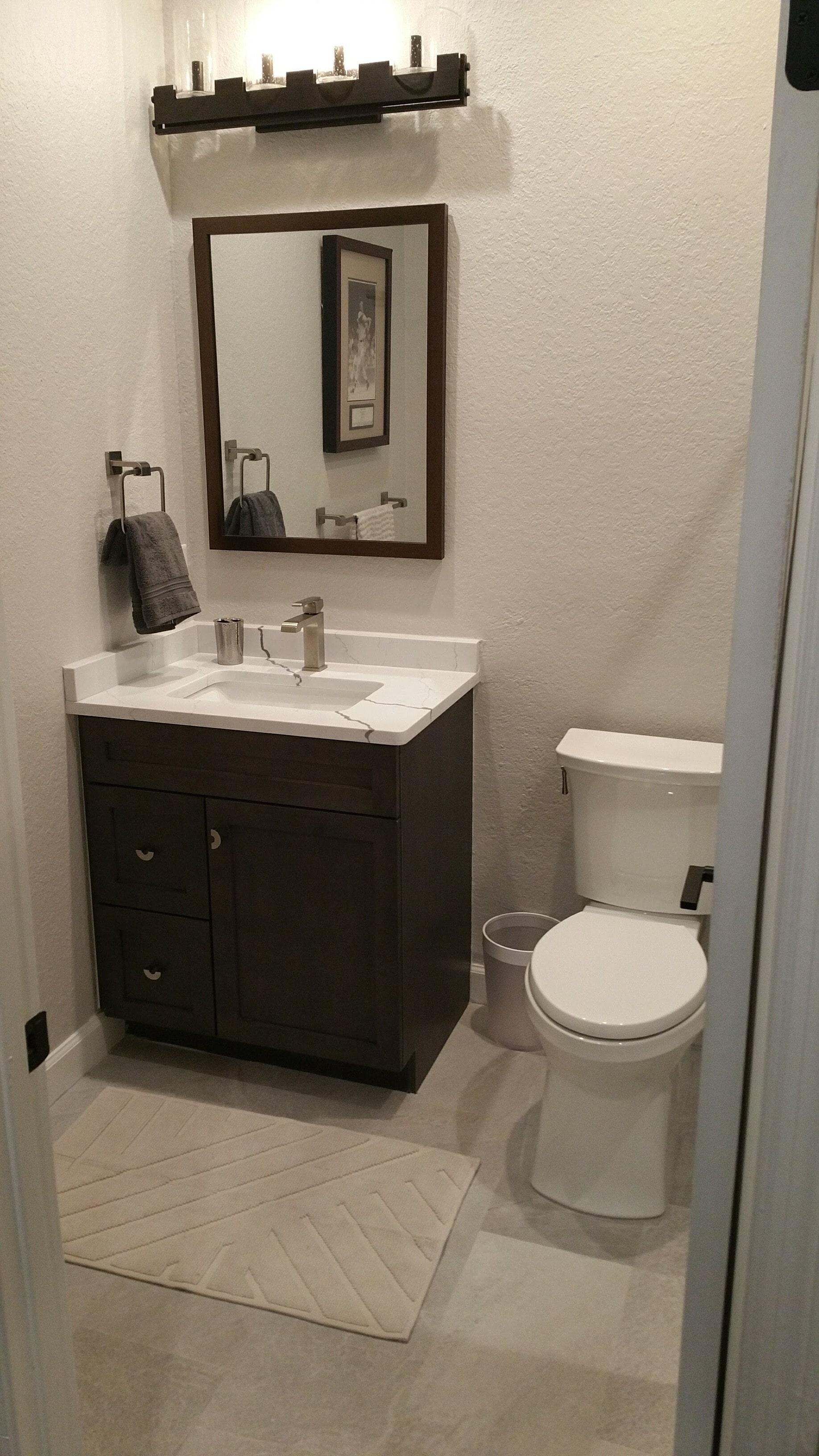 Tampa Florida bathroom remodel
