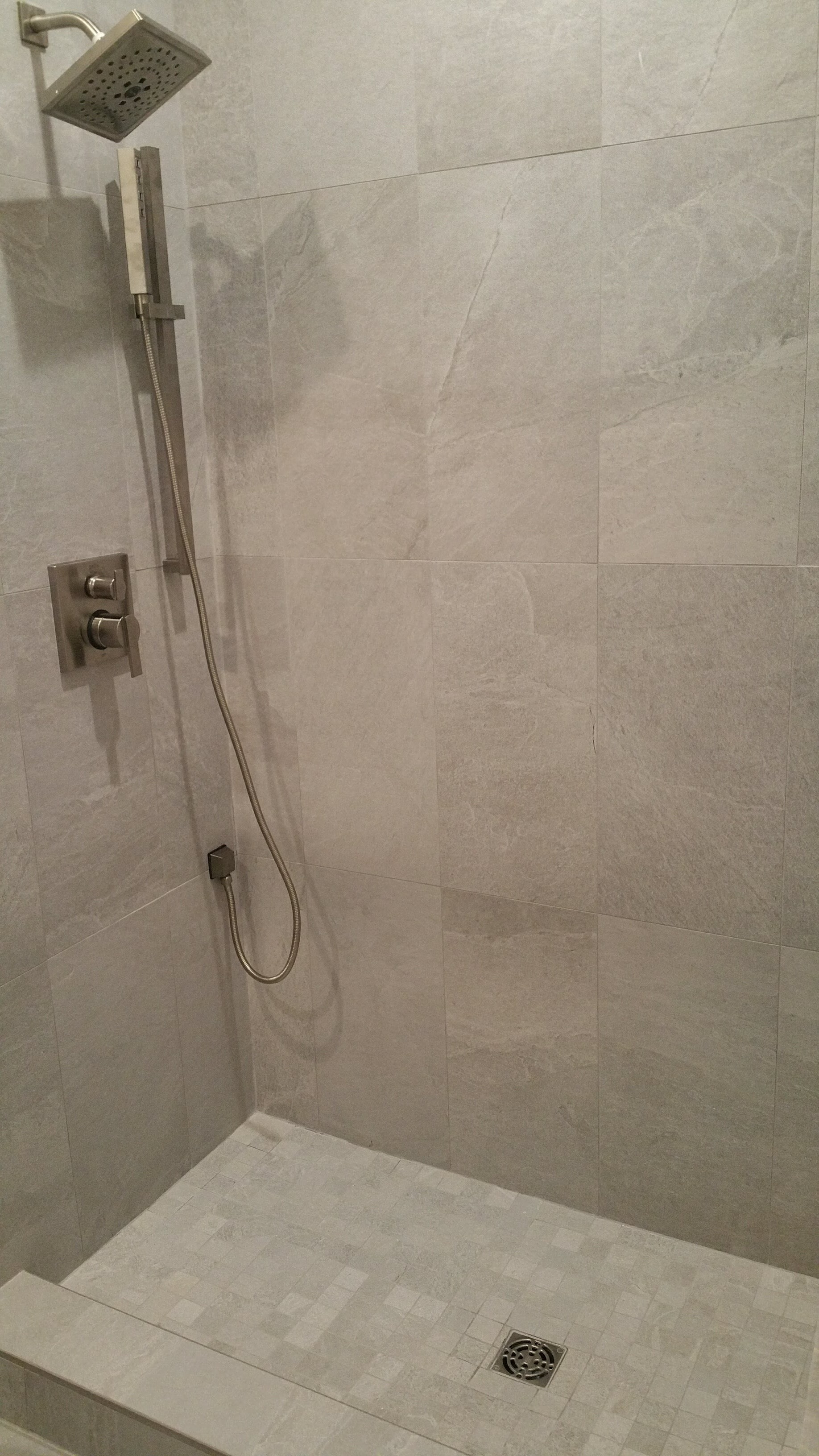 Shower tile installation and remodel in Tampa FL