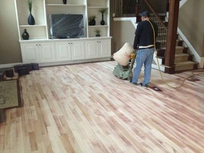 Flooring restoration from Cape Fear Flooring & Restoration