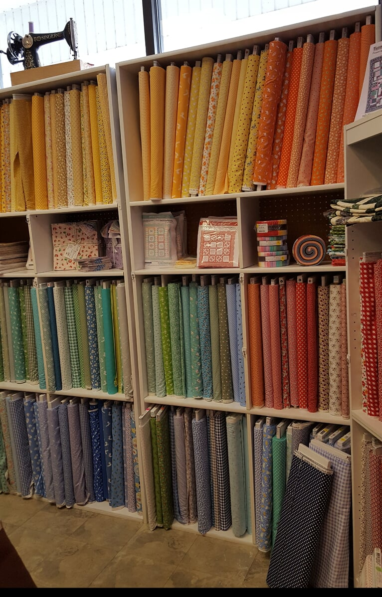 20s and 30s fabric, Sewing Etc., Yorkville, IL