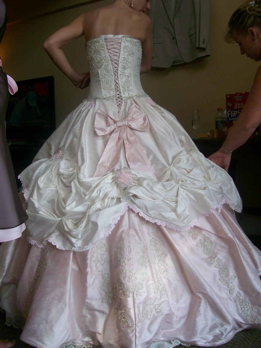 Bridal Gown Back, Sewing Etc., Yorkville, IL