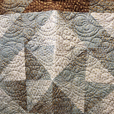 Triangular Quit Pattern, Sewing Etc., Yorkville, IL