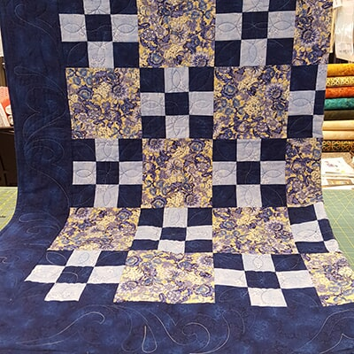 Checkered Quilt, Sewing Etc., Yorkville, IL