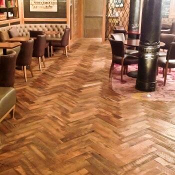Reclaimed flooring 13